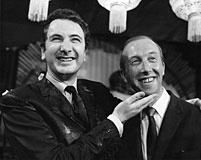 Michael Winner and Harold Baim